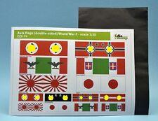 DioDump DD104 Axis flags (double-sided) with aluminium foil 1:35 diorama