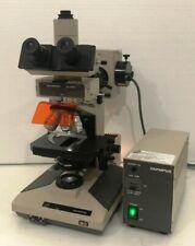 Olympus Bhs Microscope With Bh2 Rfca Fluorescence Illuminator Ship World Wide