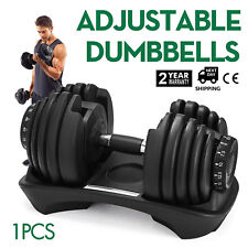 40kg Weight Adjustable Dumbbell Home GYM Exercise Lifting Gym use Workout PRO