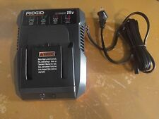 Ridgid R86092 18 Volt 18V Dual Chemistry Lithium Ion Battery Charger  !!!!!!!!!