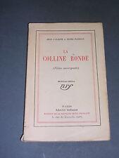 Auvergne Jean l'Olagne Henri Pourrat La Colline ronde (films auvergnats) 1927
