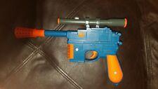 Star Wars Han Solo Laser Pistol Electronic Orange& Blue Gun(Lights & Sounds)