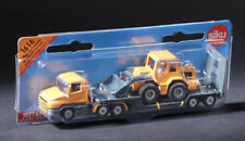 Siku 1616 Low Loader with Front Loader Truck Diecast Model