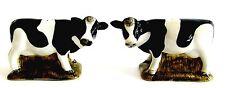 Ceramic Freisian or Black & White Cow Salt & Pepper Shakers