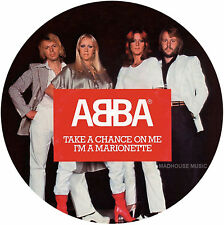 """ABBA 7"""" Take A Chance On Me PICTURE DISC Limited Edition 2017 NEW Vinyl PRE-sell"""