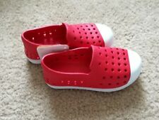 NWT Gymboree Water Shoes sz 10T red white like native style summer MSPR29.95