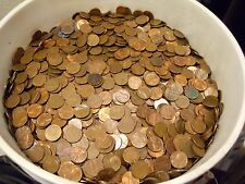 $240 Face Val US Copper Pennies, 95% CU Cents 1959-1982 163 LBS 24,000 Coins