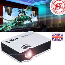 6000 LUMENS Full HD 1080p LED LCD VGA HDMI TV Cine en casa Proyector Cine