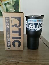 NEW RTIC 20oz Tumbler - Stainless/ Black
