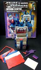 Transformers G1 Soundwave Design Centre Original Boxed House Martin Hasbro 1985
