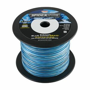 SPIDERWIRE STEALTH Braid 3000 Yards- Blue Camo- Pick Line Class Free FAST Ship