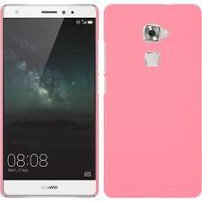 Funda Rígida Huawei Mate S - goma rosa + protector de pantalla