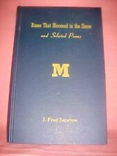 """RARE SIGNED 1st Edition 1959 Roses That Bloomed in the Snow, """"M"""" CLUB"""" Michigan"""