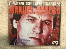 MANUEL GERENA FLAMENCO SEVILLANAS Y CANCIONES 3 VOCES  CD NUEVO PRECINTADO