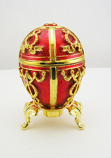 Faberge Rosebud Egg Figurine (comes with stand)