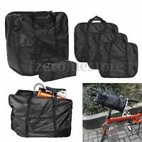 """Bicycle Bike Folding Carrier Bag Carry Cover For 14""""-20"""" Mountain + Storage Bag"""