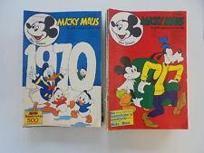 42x Micky Maus Walt Disney Sammlung (1970) verschiedene Hefte / Serien Z.2-3/3