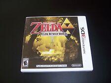 Replacement Case (NO GAME) LEGEND OF ZELDA A LINK BETWEEN WORLDS Nintendo 3DS