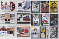 Goalie Parallels Game Used Autos RCs Numbered Patch - Choose From List - NHL