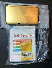 Nintendo 3DS XL Zelda GOLD Limited Edition [ Console ONLY / NO Game ] USED