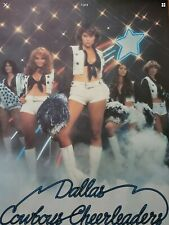 NFL Vintage Poster Dallas Cowboys Cheerleaders  NFL Iconic 1977 New In Wrapper.