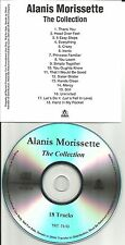 ALANIS MORISSETTE The Collection RARE ADVNCE TST PRESS PROMO DJ CD 2005 USA MINT