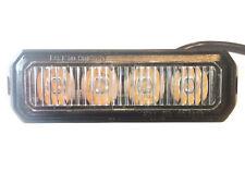 LED Frontblitzer Heckblitzer 12/24V PKW LKW  Straßenräumer ECE R10 R65 E9 Orange