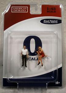 38352 American Diorama 70style Figure Set II 1:43