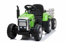 Kinder Elektroauto Traktor Anhänger Kinderauto Kinderfahrzeug Elektro 12V USB