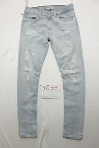 Levi's 506 Standard Customized (Code Y639) Tg.47 W33 L34 Jeans D'Occassion Slim