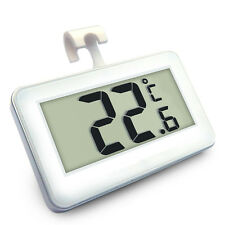 Waterproof LCD Digital Freezer Fridge Refrigerator Thermometer w/ Hanging Hook