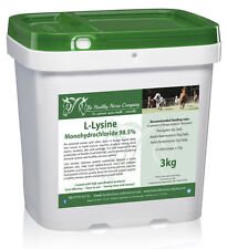 L Lysine 3kg Refill (General Good Health, Hooves/Hair, Immune & Nervous Systems)
