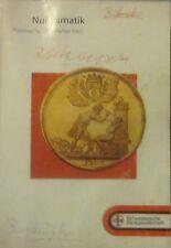 Numismatik. Gold- und Silbermünzen. Preisliste nr. 23. Herbst 1987. UBS.