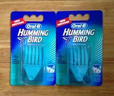 Oral-B Hummingbird Picks 50 Count Mint Refill 2 Packs Teeth Soft Heads Kolibri