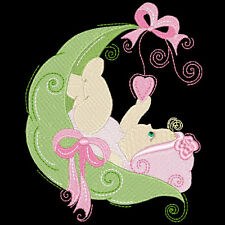 BABY SWEETPEA GIRLS - 30 MACHINE EMBROIDERY DESIGNS (AZEB)