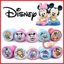 Disney Baby Stamps Mickey Mouse and Friends Pooh Bambi Self Ink Stamp Set for 10