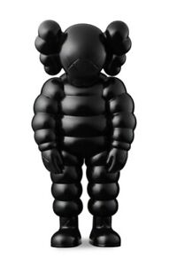 """KAWS """"What Party"""" Figure Black CONFIRMED ORDER"""