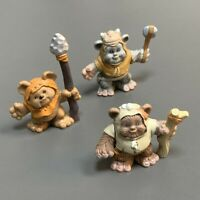 3x Star Wars Galactic Heroes Jedi Force Wicket Ewok From Endor Playskool Figure