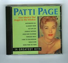 CD PATTI PAGE HOW MUCH IS THAT DOGGIE IN THE WINDOW 14 GREATEST HITS