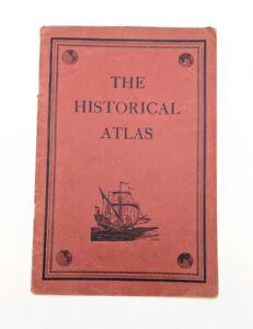 Old Vintage Maps The Historical Atlas 1937 C.S. Hammond New York Book