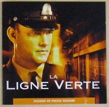 La ligne verte CD Promo Dossier de presse sonore