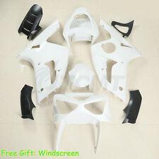 Unpainted Injection Bodywork Fairing Kit For Kawasaki NINJA ZX-6R 636 2003 2004