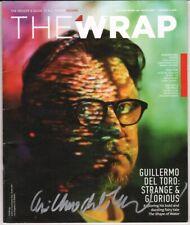 GUILLERMO DEL TORO Authentic Hand-Signed THE WRAP MAGAZINE