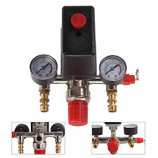 Single Phase Compressor Pressure Switch Air Valve Gauge Control Relief