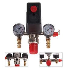 Compresseur air Pressostat Régulateur Jauges Vanne régulation Manifold Plastique