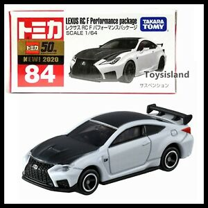TOMICA 84 LEXUS RC Performance Package 1/64 TOMY 2020 Dec NEW MODEL
