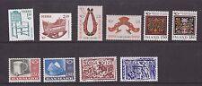 UMM MNH STAMP SETS NORDIC DENMARK, FINLAND, ICELAND, SWEDEN, NORWAY 1980