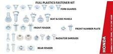 Schrauben Satz Verkleidung Plastik Satz Kit Honda CRF 250 / CRF 450 Bj 2013-2015