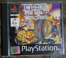 Playstation one game, TWISTED METAL, WORLD TOUR, ps1