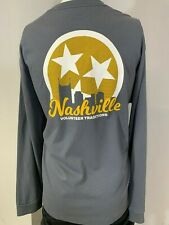 "New Volunteer Traditions ""Nashville"" Long Sleeve T-Shirt, Gray, S, XL"